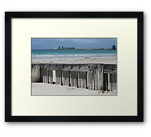 East Beach, Port Fairy. Framed Print