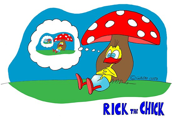 """Rick the chick """"DREAMING MYSELF"""" by CLAUDIO COSTA"""