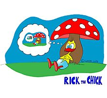 "Rick the chick ""DREAMING MYSELF"" Photographic Print"