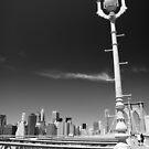 Brooklyn Bridge Lantern by Tom  Marriott