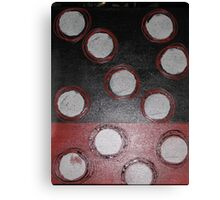 Cross-section, contemporary abstract work Canvas Print