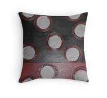 Cross-section, contemporary abstract work Throw Pillow