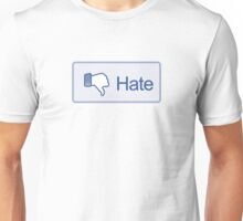 Hate Button T-Shirt Unisex T-Shirt