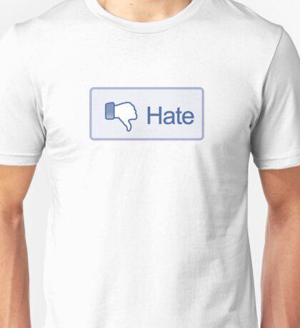 Hate Button T-Shirt Unisex T-Shirt