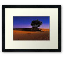 Stockton Glow Framed Print