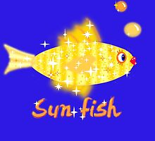 Sun Fish by Uncle McPaint