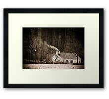How we used to Live Framed Print