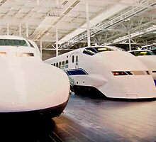 Bullet Trains by phil decocco
