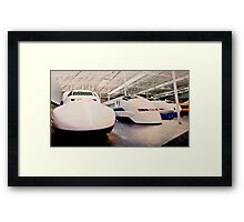 Bullet Trains Framed Print