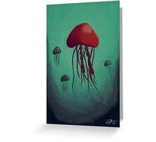 In the Deep Sea  Greeting Card