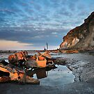 The Wreck - Admiral Von Tromp - Saltwick Bay  by Ian Snowdon /     www.downtoearthimages.co.uk