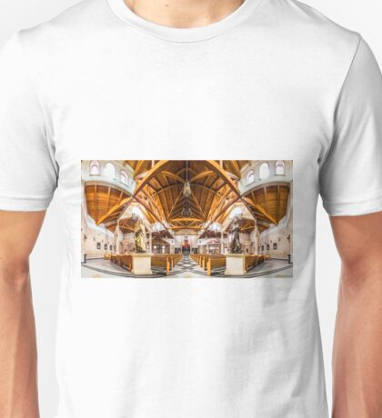St. Clare of Assisi church 2 Unisex T-Shirt