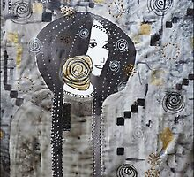 Inspired by Klimt by © Pauline Wherrell