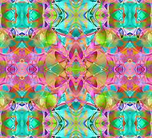 Fractal Floral Abstract  by Medusa81