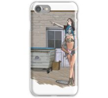 going to town iPhone Case/Skin
