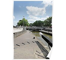 Bancroft Basin, Canal Lock Poster