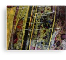 Cling film close up #2 Canvas Print