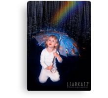 ~SINGING IN THE RAIN~ Canvas Print