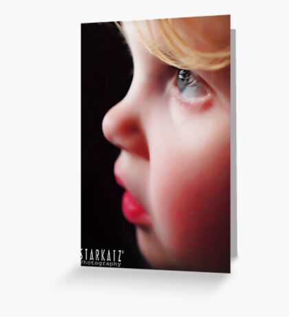 ~A CHILDS FACE~ Greeting Card