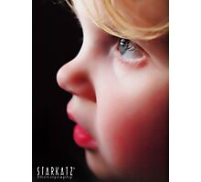 ~A CHILDS FACE~ Photographic Print