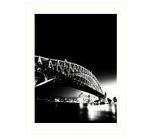 Sydney Bridge Art Print