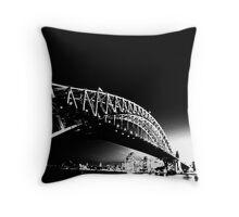 Sydney Bridge Throw Pillow