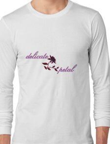 delicate petal Long Sleeve T-Shirt