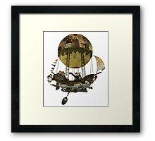 A tour in the Clouds Framed Print