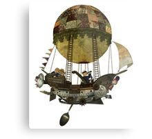 A tour in the Clouds Metal Print