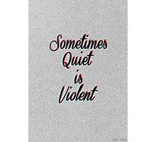 Twenty One Pilots lyrics Photographic Print