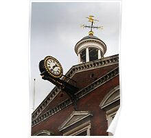 Clock and Cupola Poster