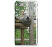 A baboon's point of view iPhone Case/Skin