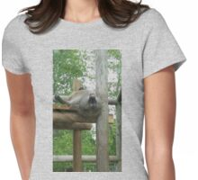 A baboon's point of view Womens Fitted T-Shirt