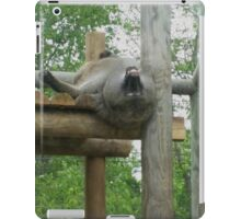 A baboon's point of view iPad Case/Skin