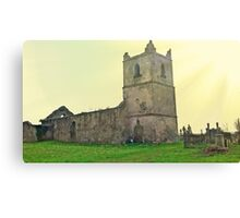 The Abbey at Glanworth Canvas Print