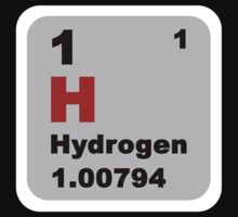 Periodic Table of Elements: No. 1 hydrogen by walterericsy