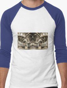 St. Clare of Assisi church 3 Men's Baseball ¾ T-Shirt