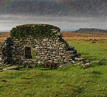 Dartmoor Cathedral in the Rain by DonDavisUK