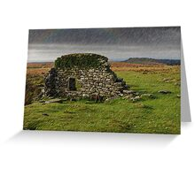 Dartmoor Cathedral in the Rain Greeting Card