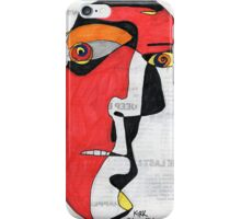 'A Man in Search of Answers' iPhone Case/Skin