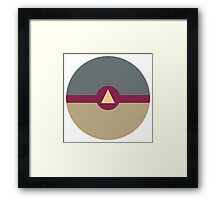 The Vision Ball Framed Print