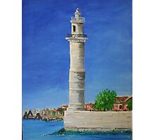 Lighthouse in Venice Photographic Print