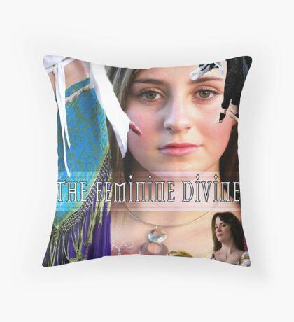 The Feminine Divine Throw Pillow