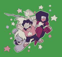 Steven Universe - Gem Warriors! Kids Clothes