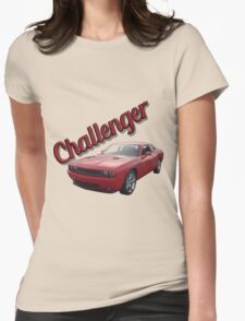 Red Challenger Womens Fitted T-Shirt