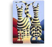 Genetic  cats Canvas Print