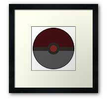 Ant Man Ball Framed Print