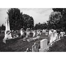 Necropolis Photographic Print