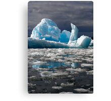 Ice Cube Canvas Print