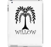 willow tree iPad Case/Skin